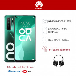 Huawei Nova 7 SE Mobile Phone 6.5-inch Screen 8GB RAM and 128GB Storage